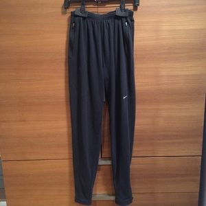 Nike Black running pants size Medium Black